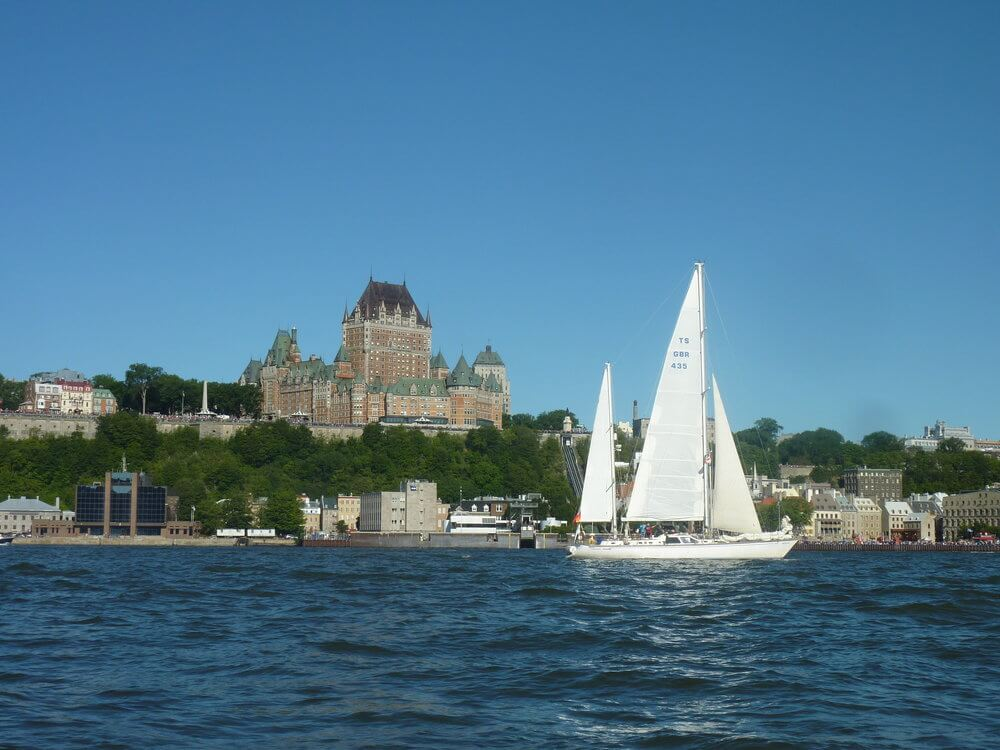 Tall Ships Race - Quebec